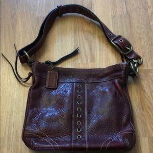 Vintage style coach purse